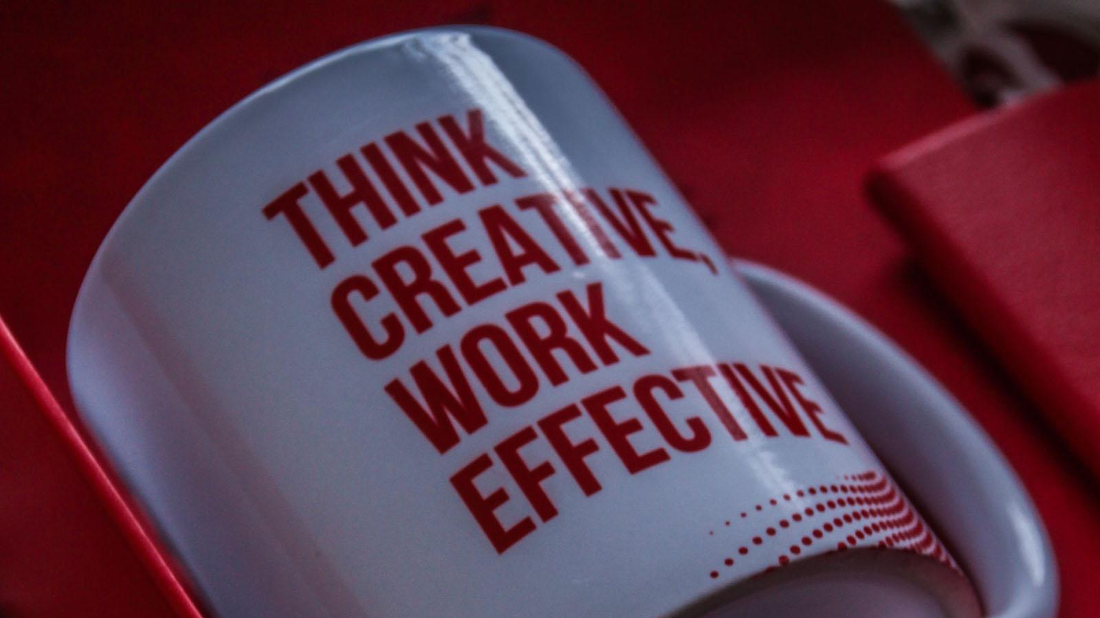 Think Creative Work Effective