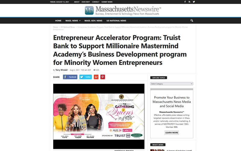 Massachusetts Newswire